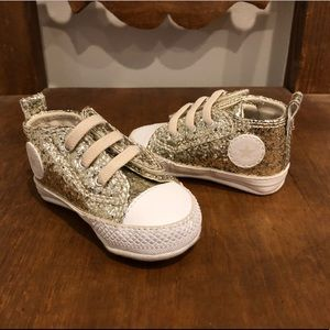 Infant Converse Chuck Taylor Glitter Sneakers